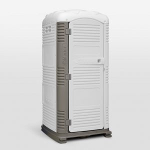 White MyBlok Customizable Special Events Portable Toilet