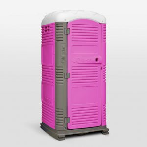 Pink MyBlok Customizable Special Events Portable Toilet