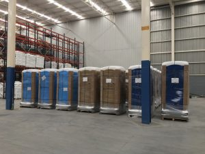 Portable toilet manufacture Mexico