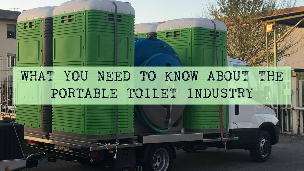 What you need to know portable restroom business