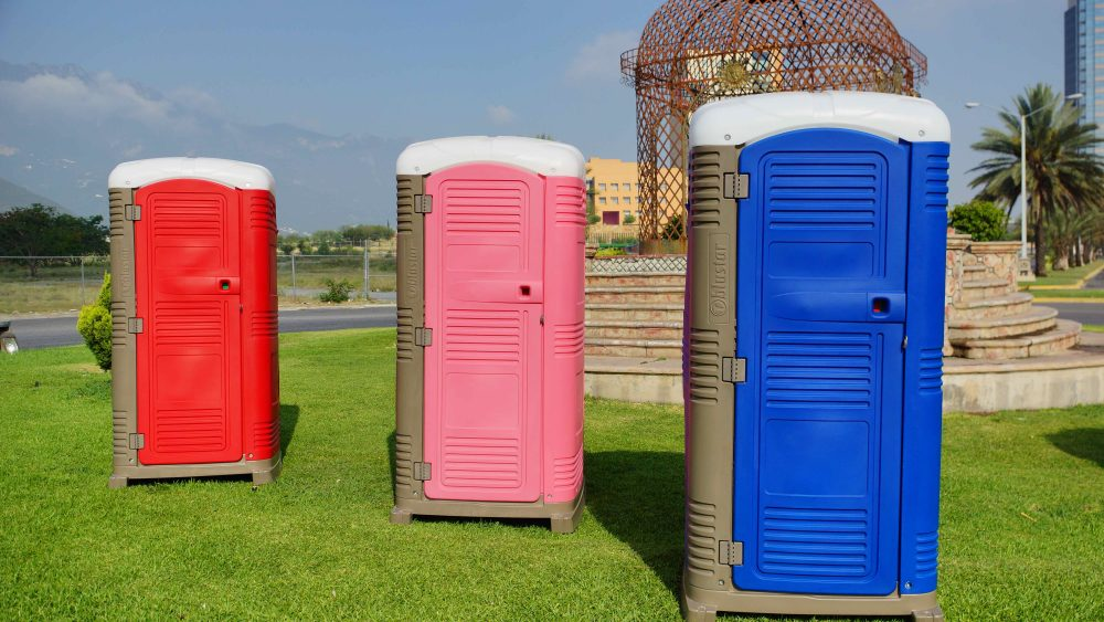 Durable Portable Toilet for Construction Sites