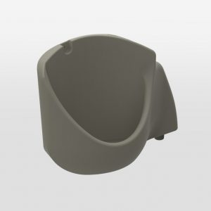 Grey Portable Toilet Urinal