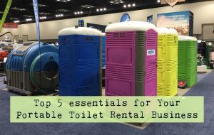 top items to start portable restroom rental business-