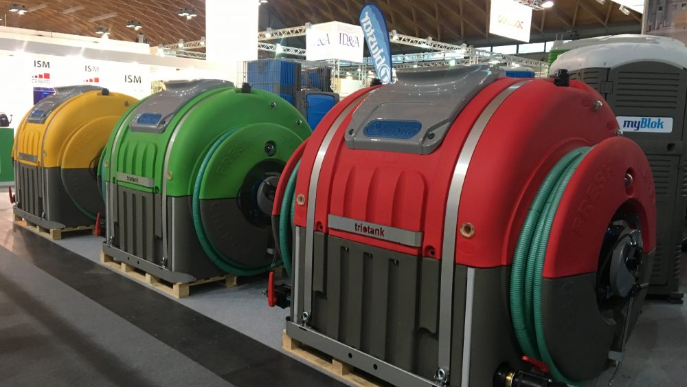 Portable Toilet Service Units
