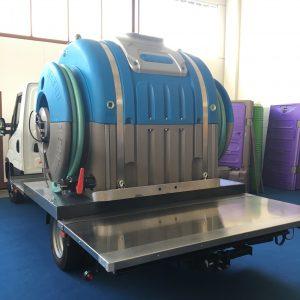 Portable Toilet Service Truck