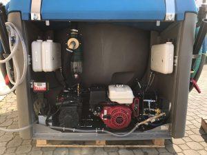 Portable Restroom Service Vacuum Tank