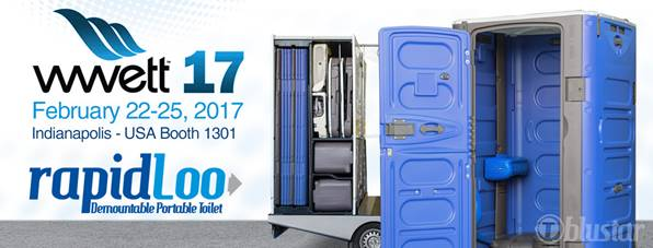 WWETT Show 2017 RapidLoo Portable Toilets