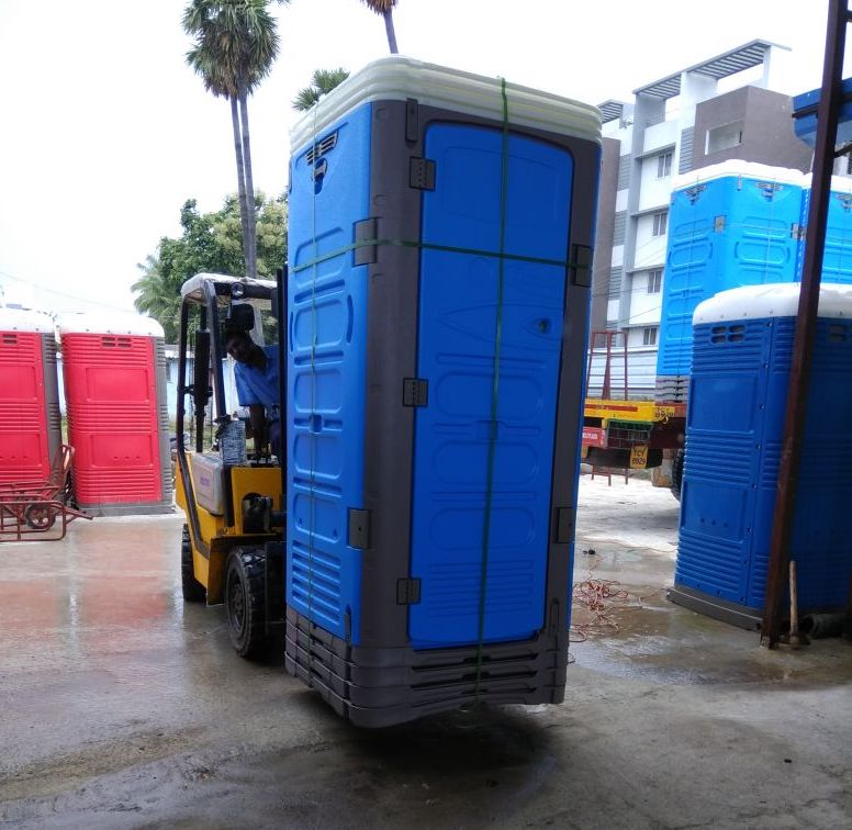 Portable Restrooms in India