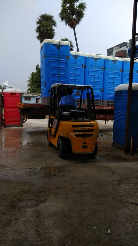 Portable Toilets in India