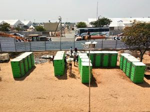 mobile toilet in India