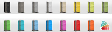 MyBlok Colors for Portable Toilet