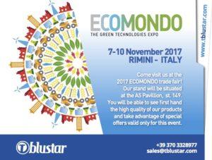 T blustar Ecomondo Green Tech Expo