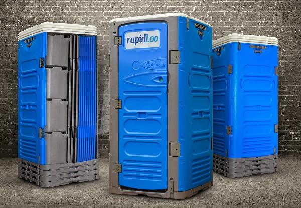 RapidLoo portable toilet TRIO