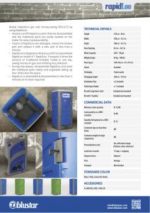 technical details RapidLoo
