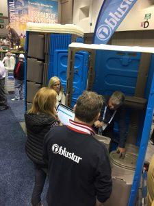 pumper show 2018 portable toilets