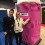 Eurotoi portable toilet