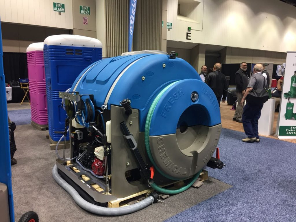 WWETT 2018 innovative vacuum tank