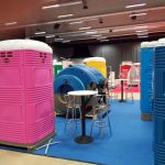 Eurotoi portable toilet vacuum tank