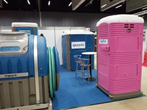 Eurotoi Show portable toilet