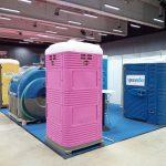 Eurotoi Show 2018 portable toilet