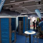 Eurotoi Show 2018 demountable portable toilet