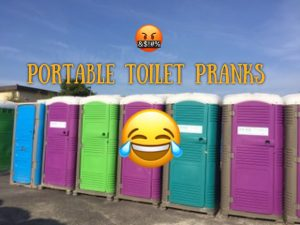 fun portable Toilet PRANKS