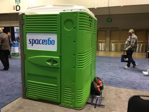 best trade show for portable toilet