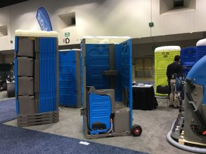 WWETT 2018 portable toilet industry