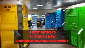 4 best articles for creating new portable toilet company
